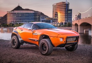 Local Motors' Rally Fighter: A car designed and built by customers.